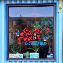 sadies diner - window front