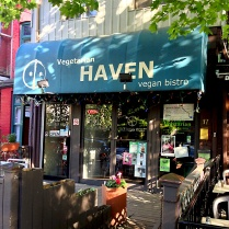 vegetarian haven - outside