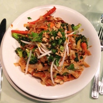 vegetarian haven - spicy bali stir-fried noodles