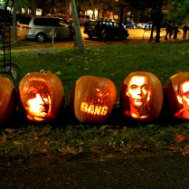 big bang theory pumpkins